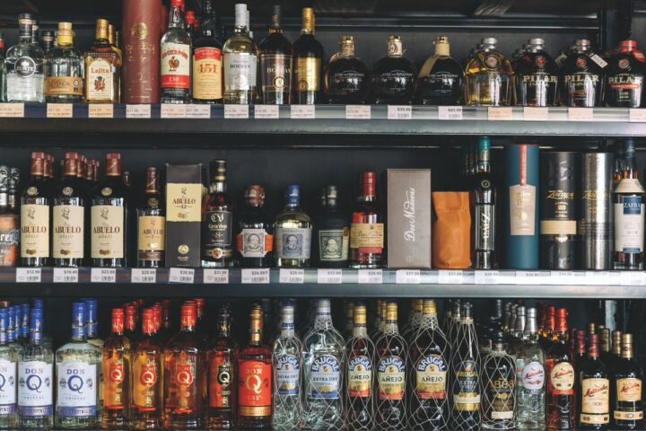 Following years of decline, rum is growing in the U.S. thanks to premiumization. At Jensen's Liquors in Miami (NW 27th Avenue unit rum shelves right), high-end craft rums are becoming popular.