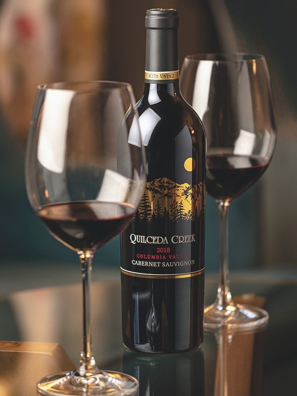 Luxury brand Quilceda Creek (pictured) had a record-setting year in 2020 as demand continued to outpace supply.