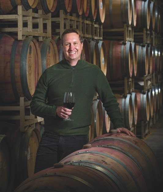 Ste. Michelle Wine Estates (head red winemaker Brett Mackey pictured) struggled last year due closures to on-premise DTC operations at its wineries, as well as an ongoing strategic reset for the company.