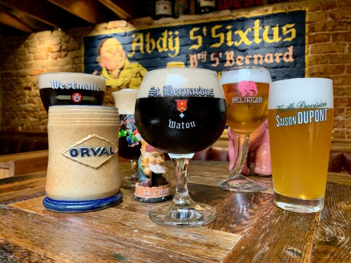 Renowned Belgian beer bar Brick Store Pub in Atlanta has seen a shift away from Belgian brews (pictured), which still account for up to 45% of the venue's beer sales.
