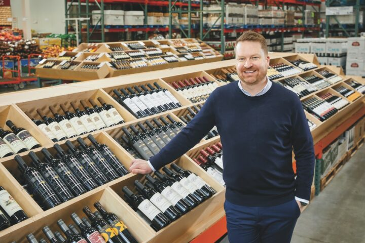 Costco Wholesale Corp.'s assistant vice president and general merchandise manager for beverage alcohol, Chad Sokol (pictured), has been with the company for nearly three decades. He took over the beverage alcohol department after Annette Alvarez-Peters retired at the end of 2019.