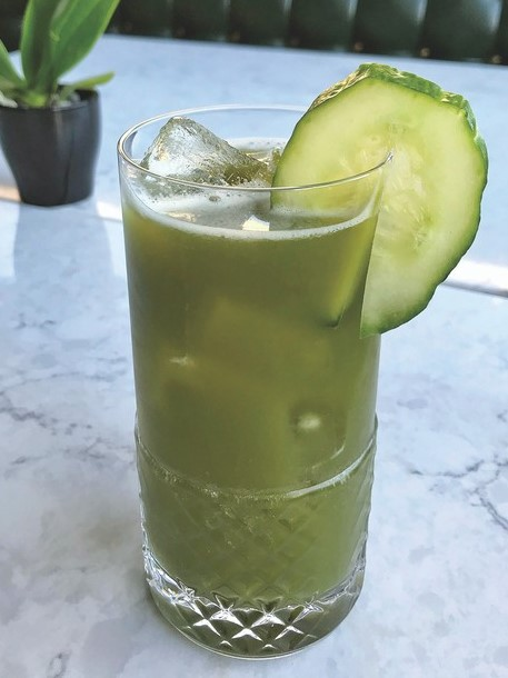Testaccio in Chicago highlights fresh garden flavors in drinks like the Viridi (pictured) to leave guests feeling refreshed and satisfied during the summer months.
