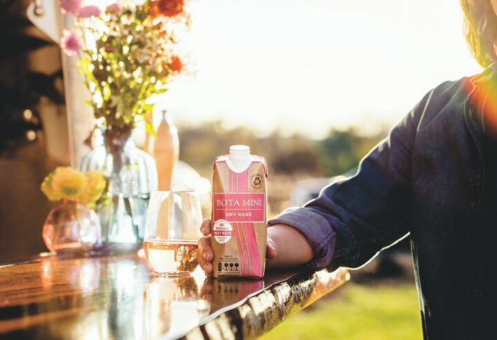 While rosé growth has been led by France, domestic offerings like California-based Bota Box Dry Rosé (pictured), are gaining traction.
