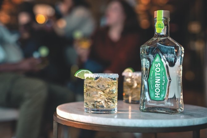 To promote the on-premise and stay connected with consumers during the pandemic, Hornitos (Plata Margarita pictured) emphasized cocktails to-go.