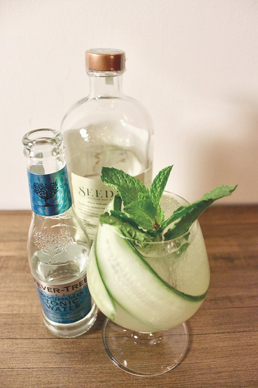 Zero-proof cocktails like the Octopus Garden (pictured) at Geraldine's in Austin, Texas offer an inclusive experience to guests who want an elevated drink without alcohol.