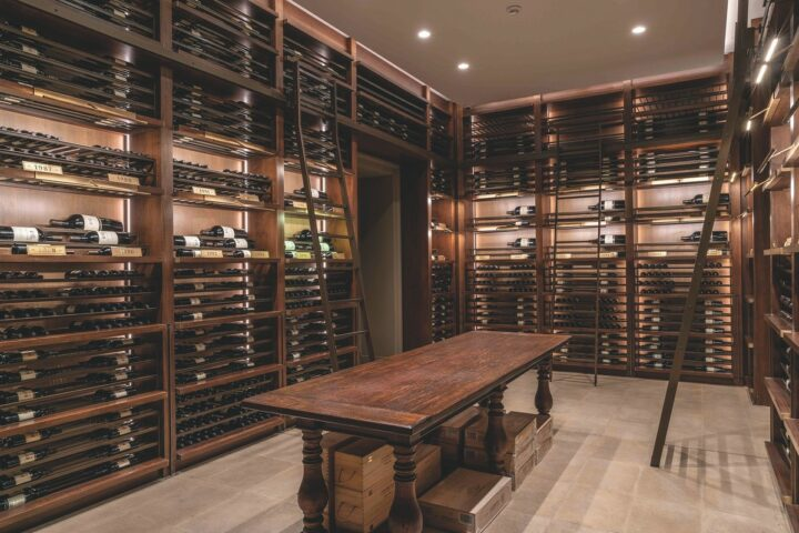 The largest Chilean wine brand in the U.S. by far, Viña Concha y Toro (tasting room pictured) depleted more than 2.1 million 9-liter cases last year, a small decline of 0.5% compared to 2019.