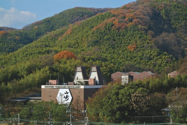 The Yamazaki Distillery (exterior pictured) is Japan's first whisky distillery, and remains one of Suntory's top whisky facilities.