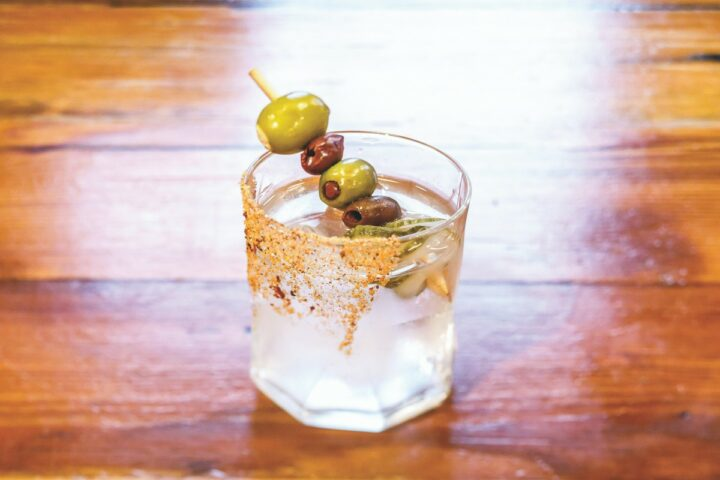 While vodka is the country's top spirit, mixologists are pushing beyond the classics by highlighting innovation and local products. At Freight House in Paducah, Kentucky, the Sara's Dirty Deed (pictured) uses Kentucky-made Castle & Key vodka.