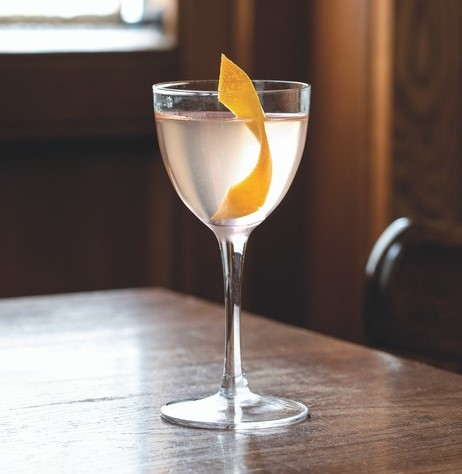 At Glorietta Trattoria in Jackson, Wyoming, vodka-based drinks serve as an entry into the craft cocktail space. The venue showcases the spirit's versatility and ability to take on other flavors in The New Start (pictured), which uses watermelon-infused Tito's.