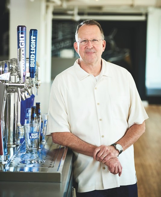 Andy Goeler (pictured), vice president of marketing for Bud Light, attributes much of the brand's recent success to the release of Bud Light Seltzer.
