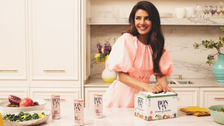 Bon Viv is one of the few hard seltzer lines that target women, hard seltzer's core demographic, in their marketing. The brand has teamed up with actress, singer, and producer Priyanka Chopra Jonas (pictured) to launch a number of women-focused initiatives.