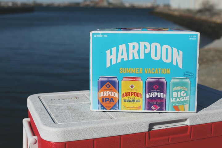 As warm weather rolls in, brewers offer summer packaging to drive sales. Mass. Bay Brewing Co. is once again releasing its Harpoon Summer Vacation variety pack (pictured), which features four different summertime brews.