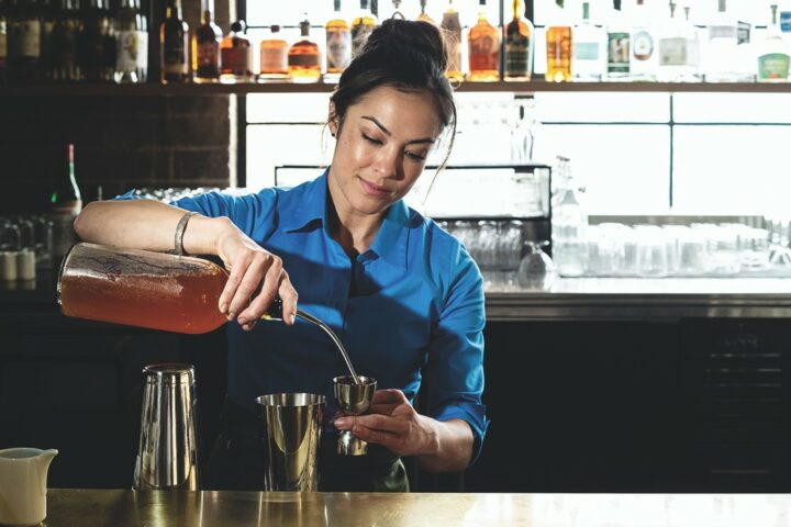 At Birdie G's in Santa Monica, California, Stephanie Reading has built an exciting bar program that utilizes locally-sourced ingredients and craft spirits.