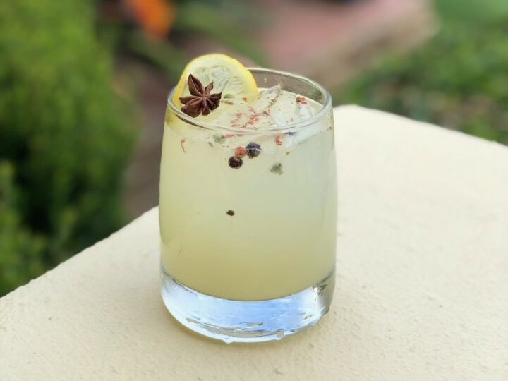 Estancia La Jolla Hotel & Spa near San Diego uses non-alcoholic products like Seedlip Grove 42 to make low-proof and zero-proof drinks, such as the Summer Fizz (pictured).