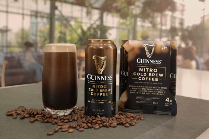 As the on-premise returns to normalcy, Guinness, a brand that struggled throughout the pandemic, is preparing to make a comeback with the release of new flavors, such as Guinness Nitro Cold Brew Coffee (pictured).