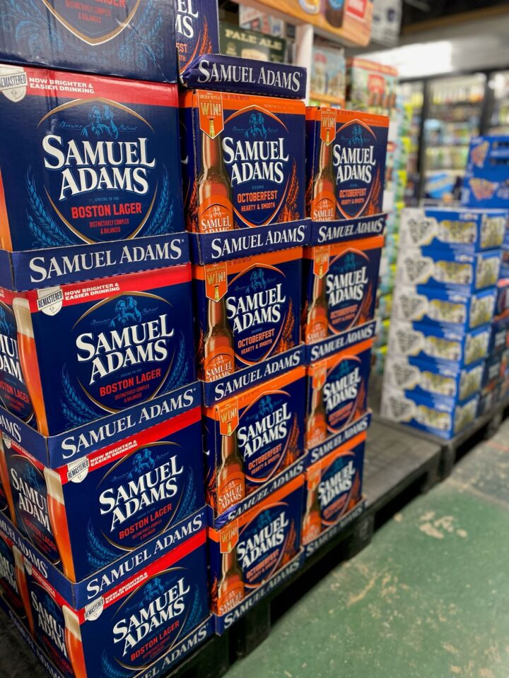 At the 11-unit Beer Universe chain in upstate New York, Samuel Adams Octoberfest (pictured) is a top-seller, along with Spaten and Paulaner.