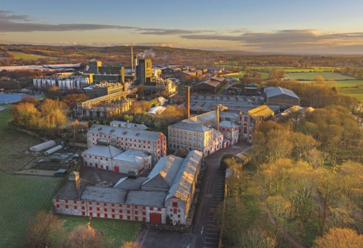 Irish whiskey has seen a major resurgence in the last decade and a half, reaching more than 4.6 million cases in 2019. Though the Covid-19 pandemic caused a slight decline, the category is still going strong thanks to major investments from Pernod Ricard's Irish Distillers (Midleton Distillery pictured) and others.