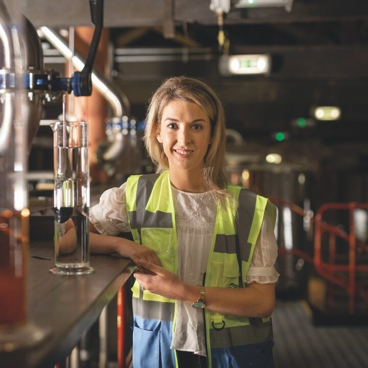 As Irish whiskey further gains the spotlight, so too has Pernod Ricard's Spot brand (distiller Katherine Condon pictured), with higher-end expressions like Green Spot, Yellow Spot, Red Spot, and Blue Spot.