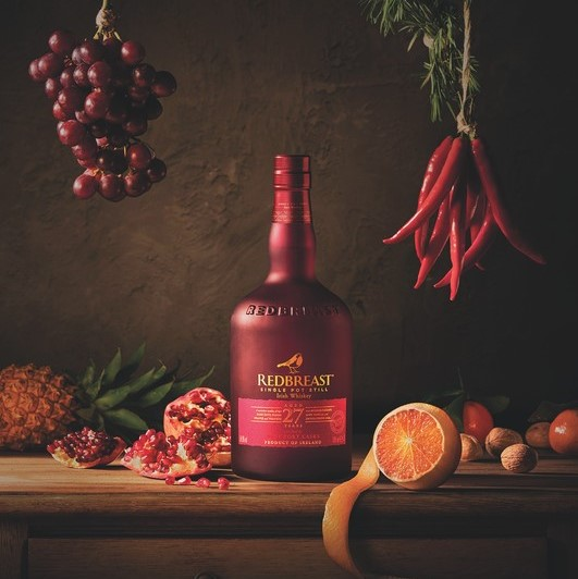 The fifth-largest Irish whiskey in the U.S., Pernod Ricard-owned Redbreast (27-year-old pictured) grew 19.1% last year, according to Impact Databank.