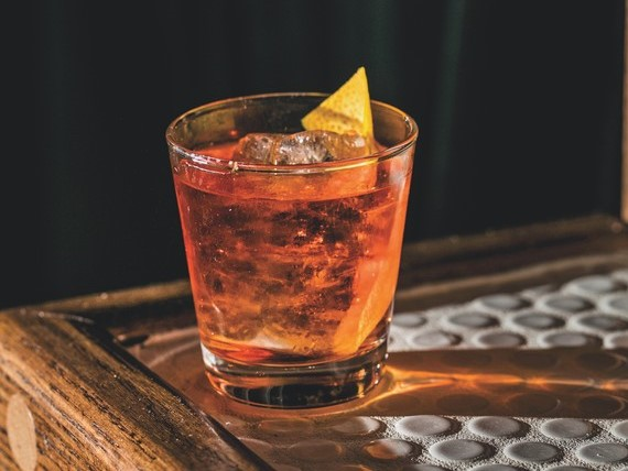 As bitter cocktails continue to capture the attention of consumers, bartenders across the country are more frequently reaching for aperitifs when creating such drinks. New York's Amor y Amargo mixes Aperol and Cocchi Americano Rosa with gin and bitters in the Waterproof Watch (pictured).