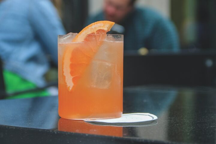 Syrups and fruit flavors are often used to cut the bitterness in cocktails like the Paloma (pictured) from Tavernetta in Denver.