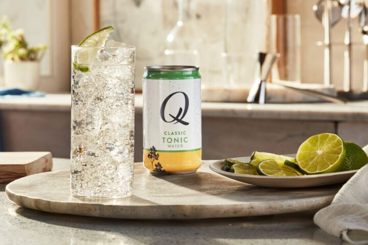 Brooklyn-based Q Mixers' (Classic Tonic pictured) on-premise business took a hit in 2020, but retail volume was up 73% year-over-year.