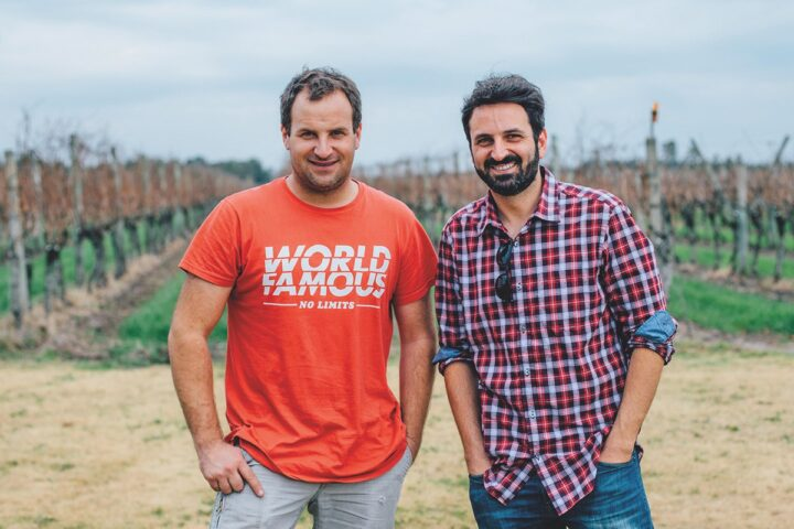 Marichal (owners Alejandro and Juan Andres Marichal pictured) has been imported to the U.S. by Global Vineyard Imports for seven years. Its Tannat offering sparked conversations about Uruguayan wine after landing on Wine Spectator's 2020 Top 100.