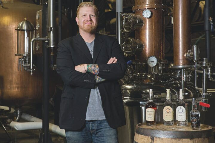 In Kansas City, Missouri, Ryan Maybee has turned his passion for bartending into J. Rieger & Co. distillery and its speakeasy bar, Hey! Hey! Club.