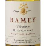 2016年Ramey霞多丽纳帕谷Carneros Hyde Vineyard标签