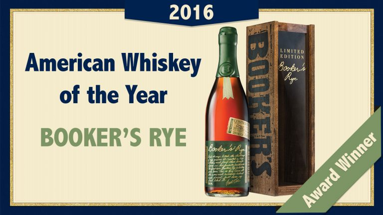 2016 American Whiskey of the Year