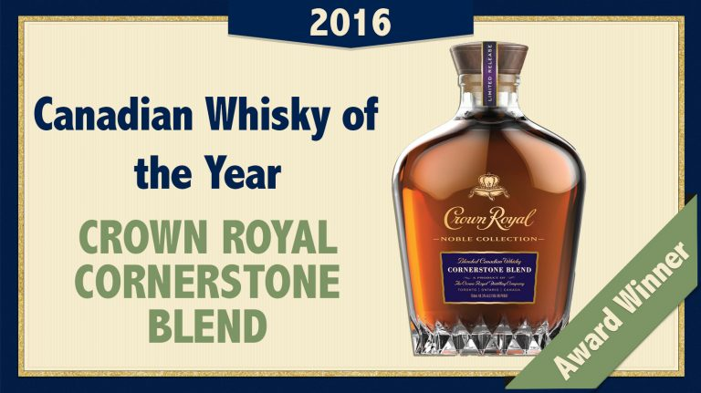2016 Canadian Whisky of the Year