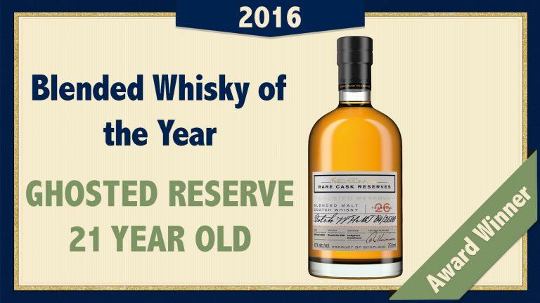 2016 Blended/Blended Malt Whisky of the Year