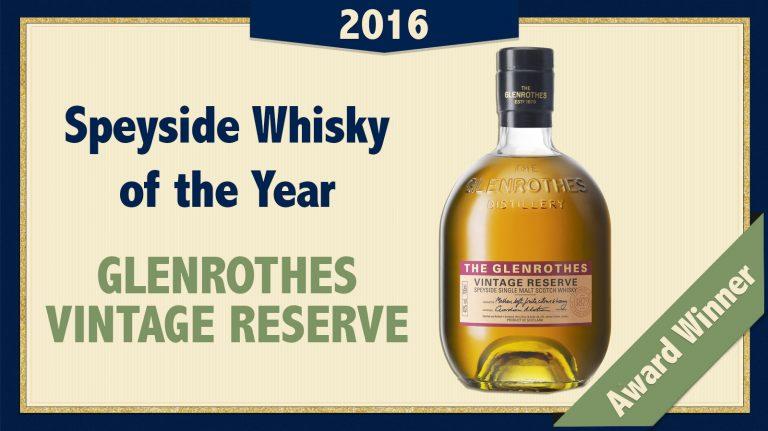 2016 Speyside Single Malt of the Year