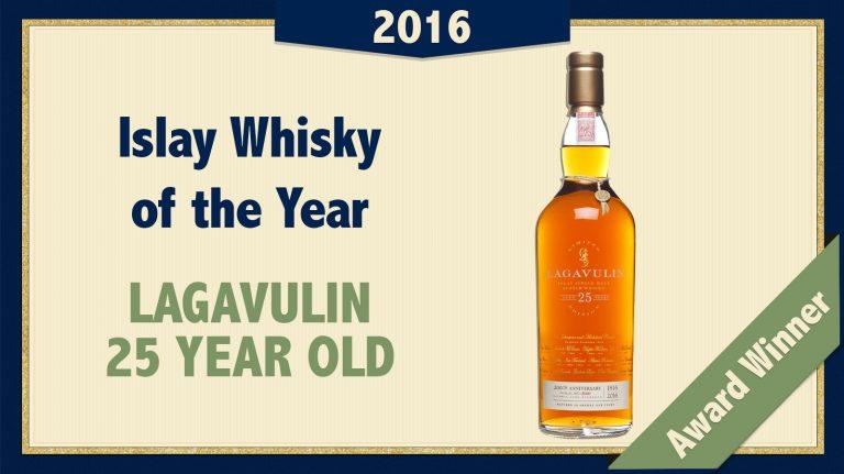 2016 Islay Single Malt of the Year