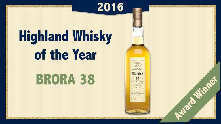2016 Highland Single Malt Whisky of the Year