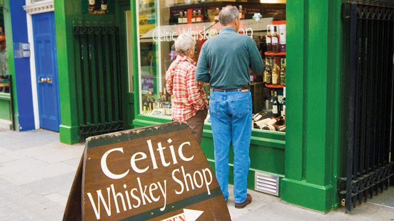 The Best Whiskey Shops in Ireland