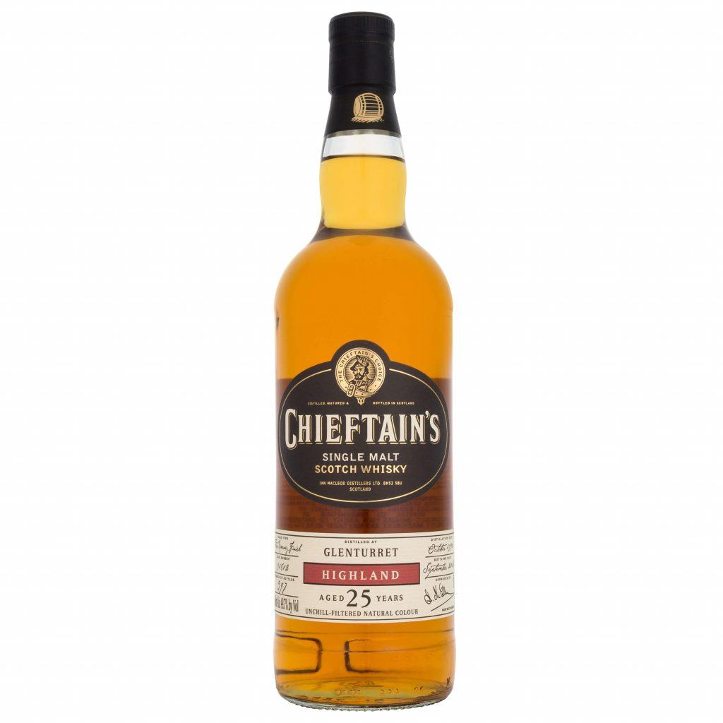 Chieftain's Glenturret 1990 25 year old