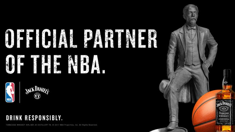 NBA Partners With Jack Daniel's