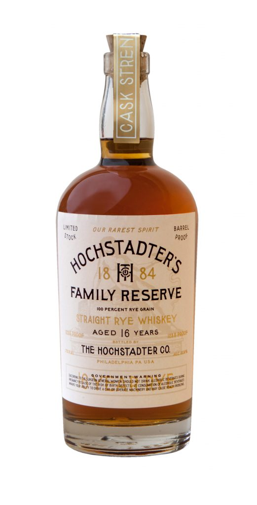 Hochstadter's Family Reserve 16 year old Rye