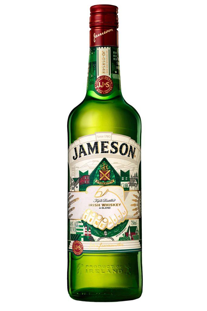 Jameson Saint Patrick's Day 2017 Bottle
