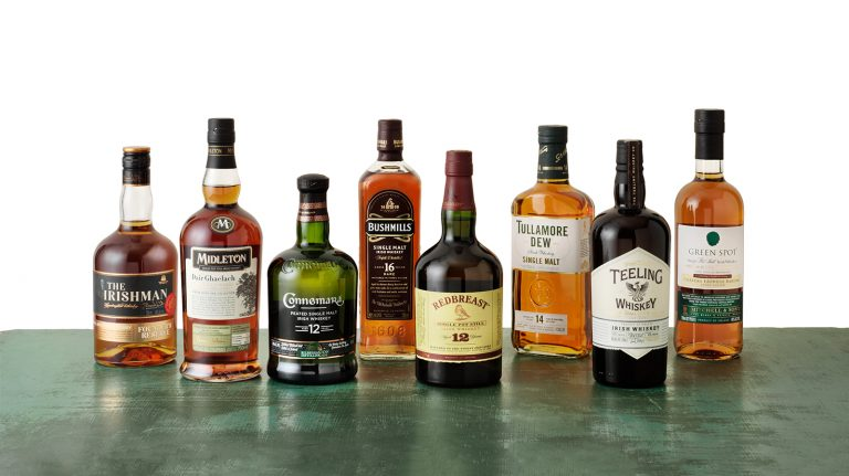 10 Irish Whiskeys You Must Try Now