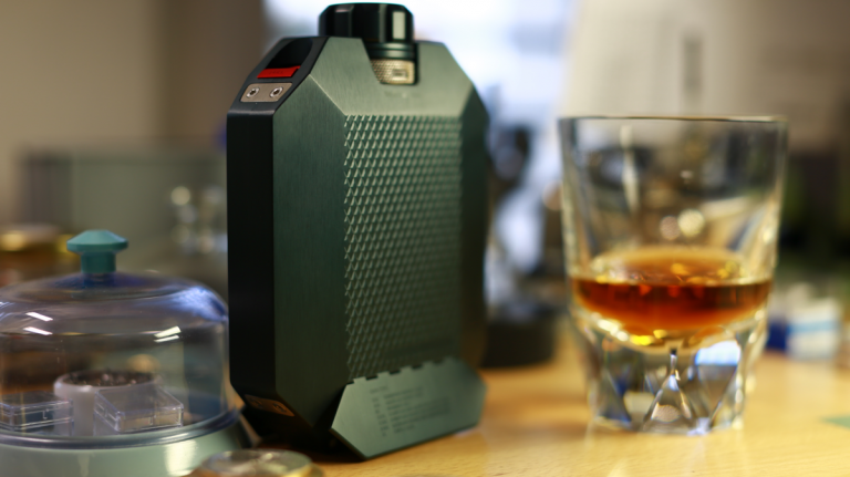 This Flask Holds Two Kinds of Whisky At Once