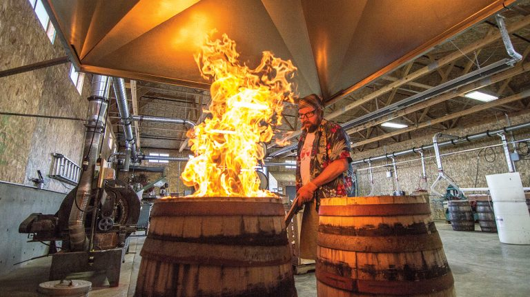 The Hottest New Whiskey Oak Comes from Oregon