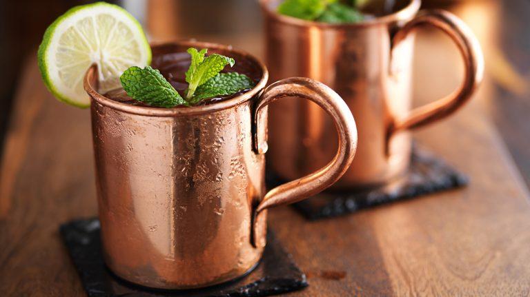 Georgia Mule [Cocktail Recipe]