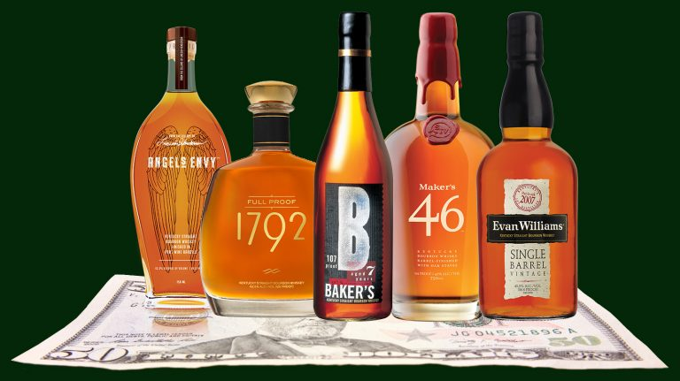 5 Bourbons Under $50 Rated 90 or Above
