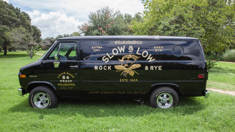 Grab A Rock and Rye In This Tricked-Out '70s Van
