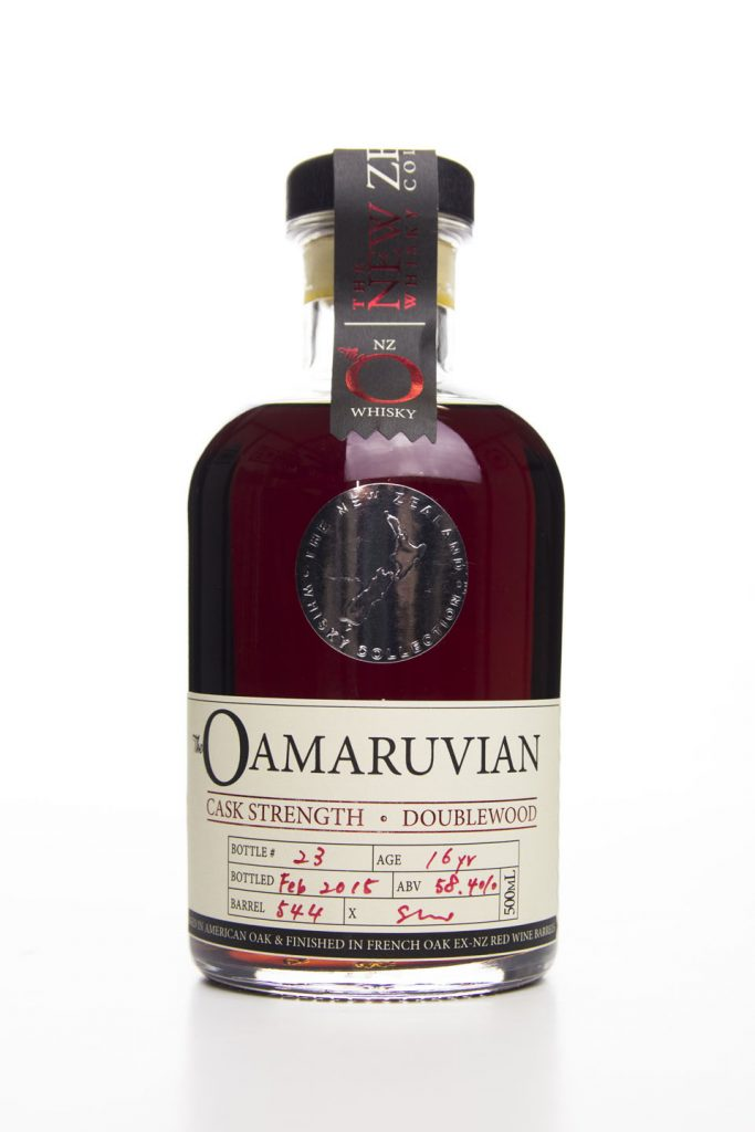 The Oamaruvian 16 year old Cask Strength DoubleWood