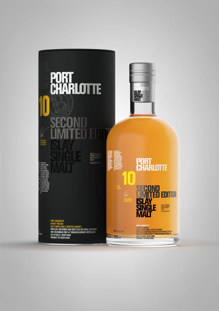 Bruichladdich Port Charlotte Second Limited Edition