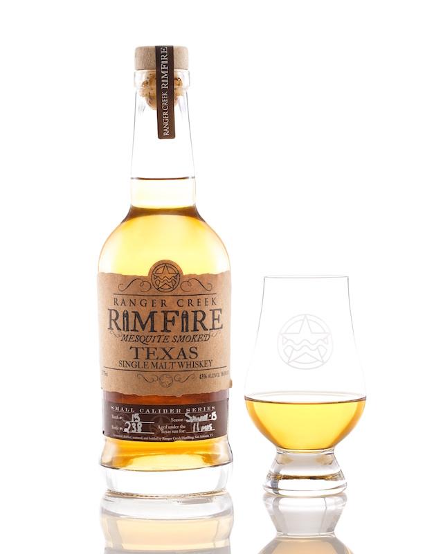 Ranger Creek Rimfire Mesquite Smoked Single Malt Whiskey