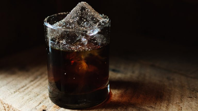 Rye Iced Coffee [Cocktail Recipe]